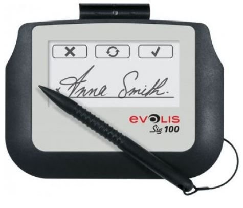 Prancheta de Assinatura Evolis SIG100 (BUNDLE SIG100 + SIGNOSIGN)- ST-BE105-2-UEVL-MB1