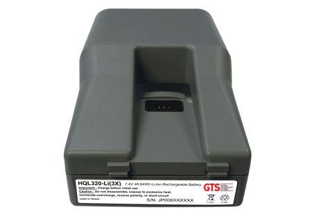 HQL320-LI (3X) - Bateria GTS Para Zebra QL320 Series