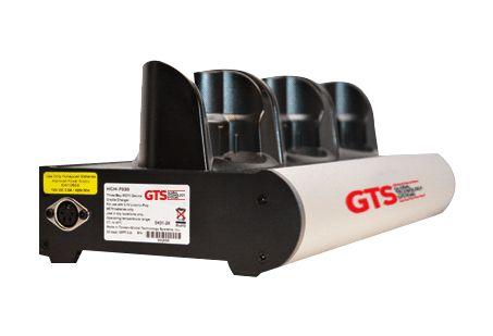 HCH-7030-CHG - Carregador de Bateria GTS 3 Compartimentos Para Symbol MC70/ MC75