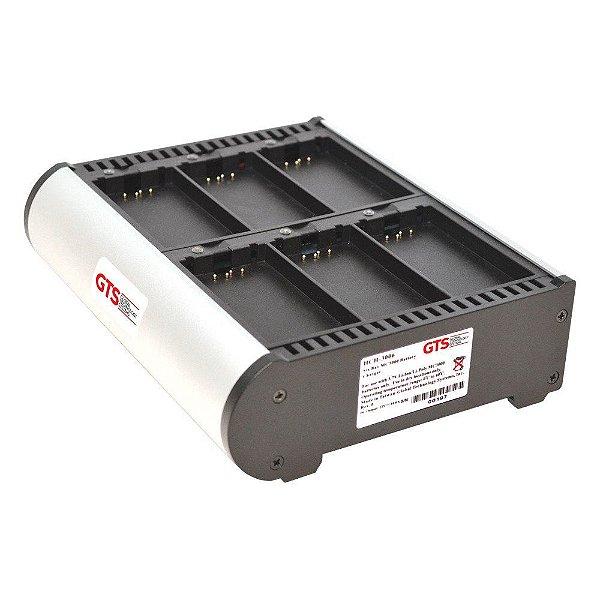 HCH-3006-CHG - Carregador de Bateria GTS 6 Compartimentos Para Symbol MC3000 / MC31XX