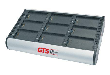 HCH-3009-CHG - Carregador de Bateria GTS 9 Compartimentos Para Symbol MC3000 / MC31XX