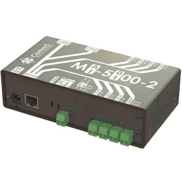 MI-100 Módulo I/O Inteligente com 4 entradas (sensores) e 4 saídas (reles)