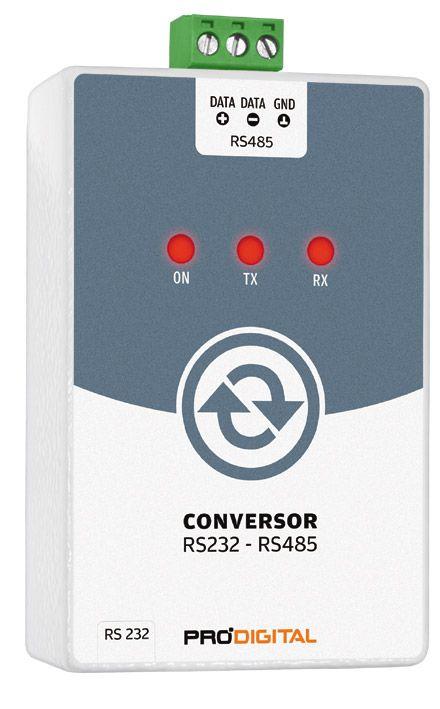 Conversor RS232-RS485 Prodigital - IF-3
