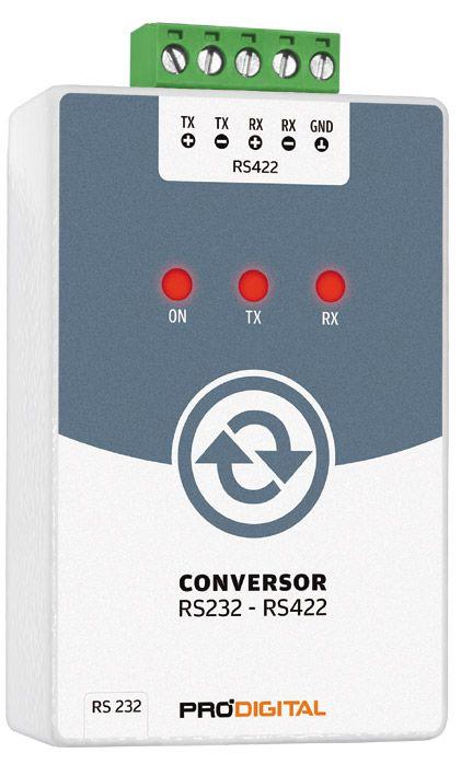 Conversor RS232-RS422 Prodigital - IF-4