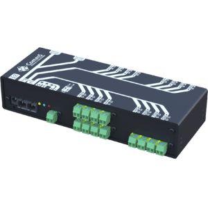 MA-52002FX Módulo de Acionamento via rede fibra ótica 100Base-FX com 12 saídas, 12 entradas e 2 Seriais