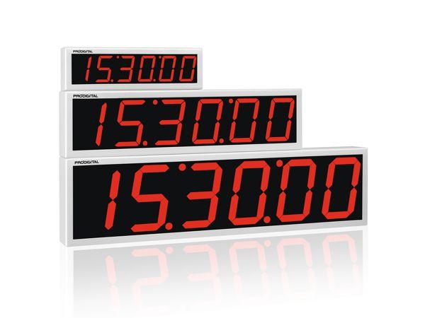 RDI-2P - Relógio Digital de Parede Prodigital - Alcance 20 Metros