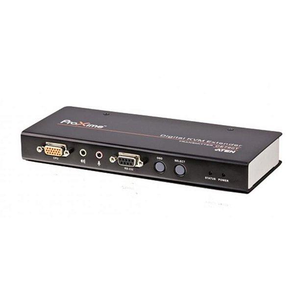 EXTENSOR DE KVM IP USB COM AUDIO - SOMENTE TRANSMISSOR - CE-790T - ATEN