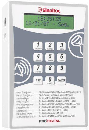 STE-04 - Relógio Digital Sinaleiro Sinaltoc Prodigital