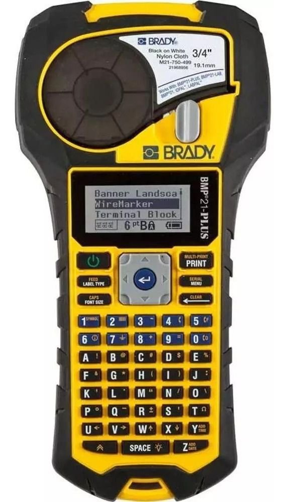 BMP21-PLUS - Rotulador / Etiquetadora Profissional Brady