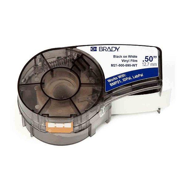 M21-500-595-WT - Etiqueta Vinil B439 Brady