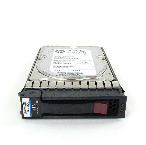 461137-B21 - HD Servidor HP 1TB 7,2K 3,5 DP SAS