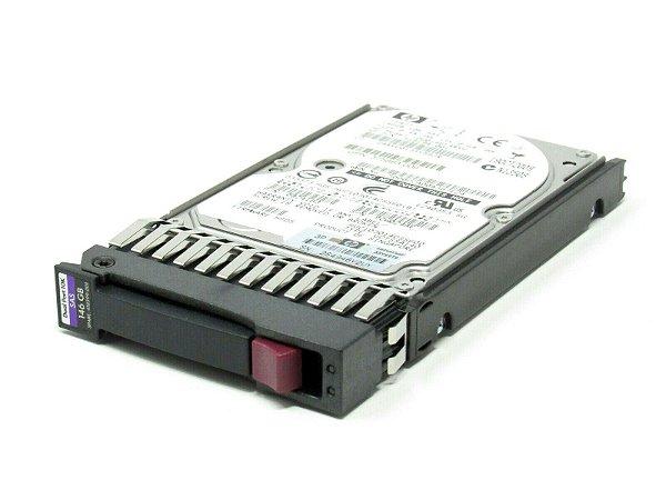 507125-B21 - HD Servidor HP 146GB 6G 10K 2.5 SAS DP