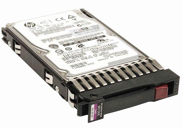 507127-B21 - HD Servidor HP 300GB 6GB 10K 2,5 SAS