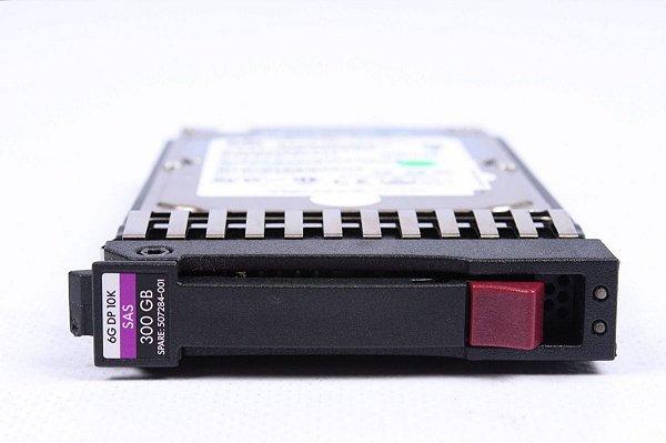 507284-001 - HD Servidor HP 300GB 6GB 10K 2,5 SAS
