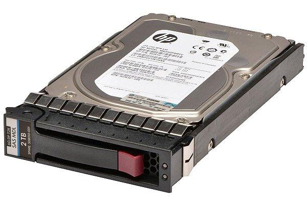 508010-001 - HD Servidor HP 2TB 6G 7.2K 3.5 SAS DP