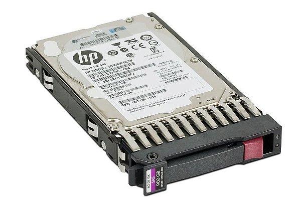 619291-B21 - HD Servidor HP 900GB 6G 10K 2.5 SAS DP