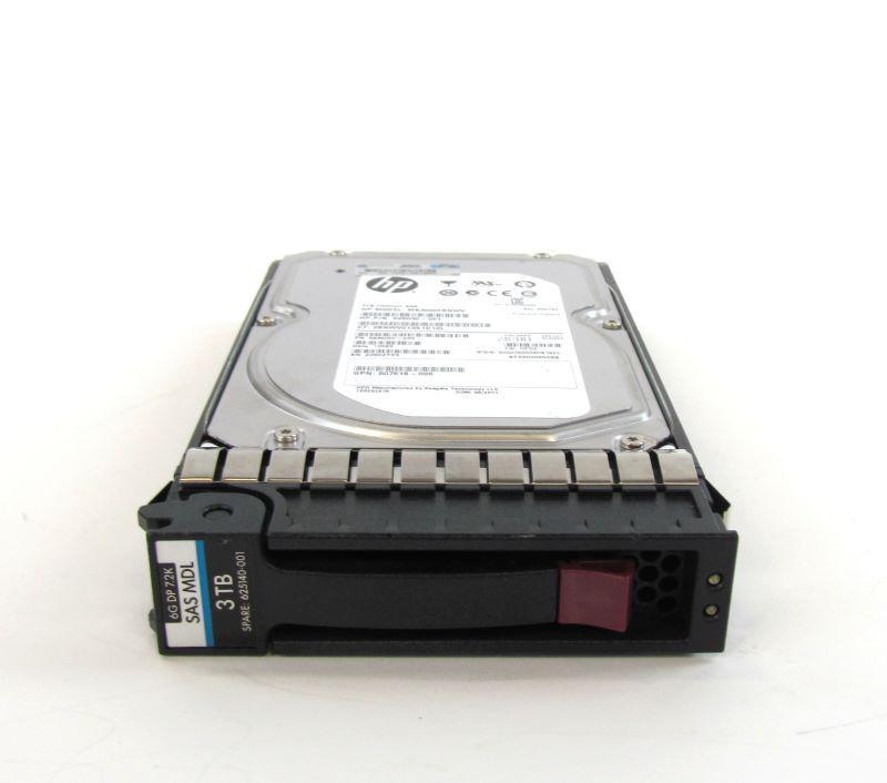 625140-001 - HD Servidor HP 3TB 6G 7,2K 3,5 MDL SAS