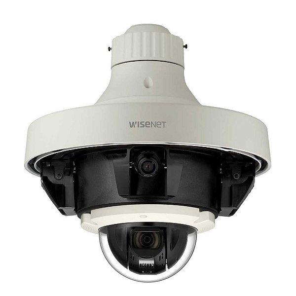 PNM-9320VQP - Câmera Network 5 Canais 4x 2MP / 5MP + 2MP 32x PTZ - Hanwha