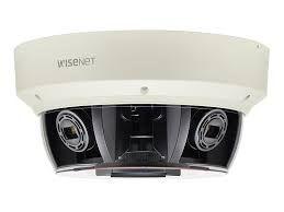 PNM-9080VQ Câmera Network Externa 2MP X4 Dome / Multi Sensor e Multi Direcional - Hanwha