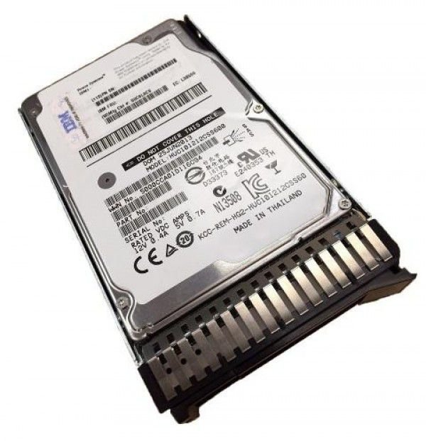 00WG710 - HD Servidor IBM 600GB 10K 12G 2,5 SAS