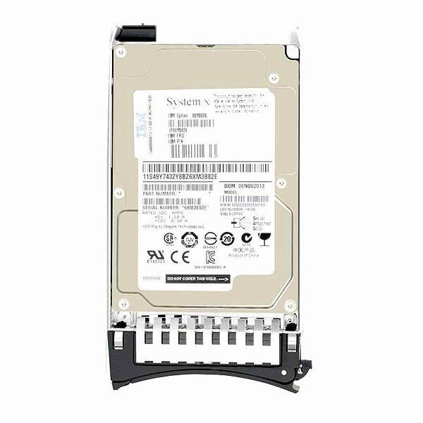 49Y6102 - HD Servidor IBM 600GB 15K 6G 3,5 SAS