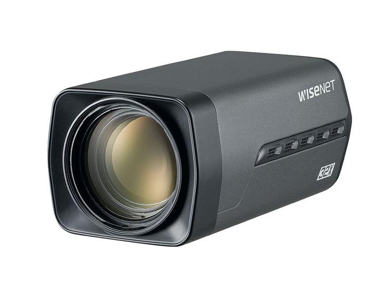 HCZ-6320 Câmera HD Analógica 2MP Caixa + Zoom 32x - Hanwha