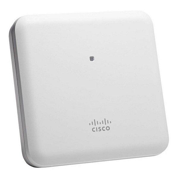 AIR-AP1852I-Z-K9C-BR PONTO DE ACESSO PARA REDE DIGITAL - Cisco Aironet Mobility Express 1850 Series - Serviço recomendado CON-SNT-IR18IZK9-BR