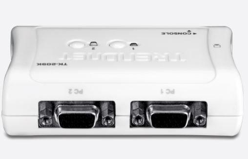 TK-209K Chaveador KVM 2 Portas USB 2 Trendnet