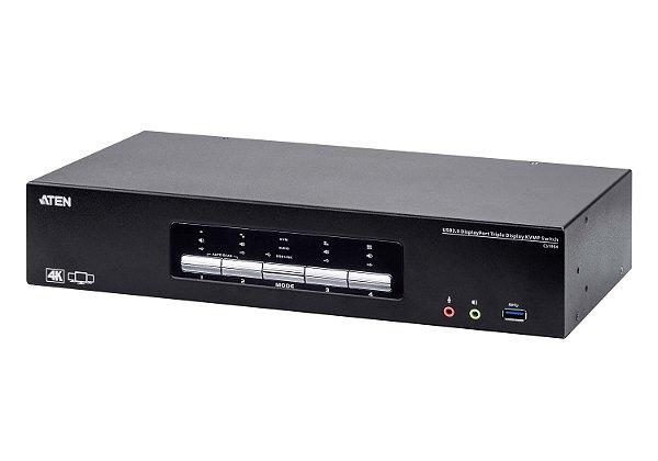 CS1964 4-Port USB3.0 4K DisplayPort Triple Display KVMP™ Switch