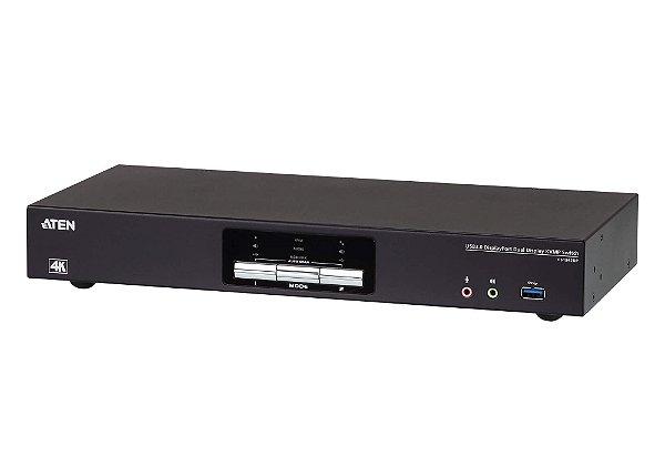 CS1942DP Switch USB 3.0 4K DisplayPort de Ecrã Duplo KVMP™ de 2 portas