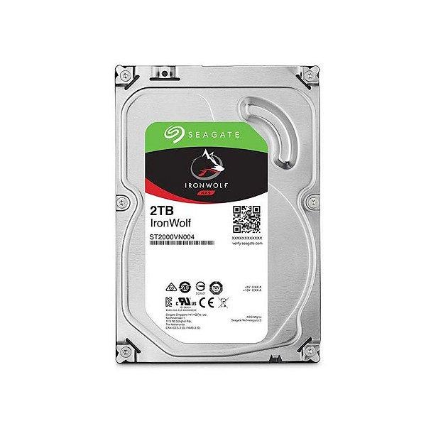 ST2000VN004 - HD Servidor Seagate 2TB 5.9K 3.5 6G SATA NAS
