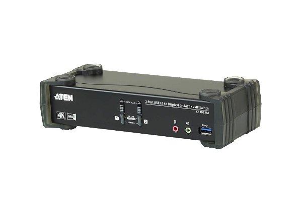 CS1922M Switch USB 3.0 4K DisplayPort MST KVMP™ de 2 Portas (Cabos incluídos)