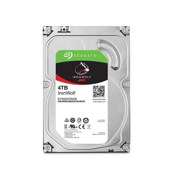 ST4000VN008 - HD Servidor Seagate 4TB 5.9K 3.5 6G SATA NAS