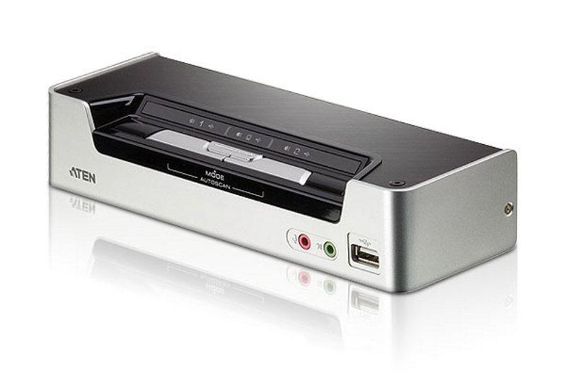 CS1792 Switch USB HDMI/Audio KVMP™ de 2 portas