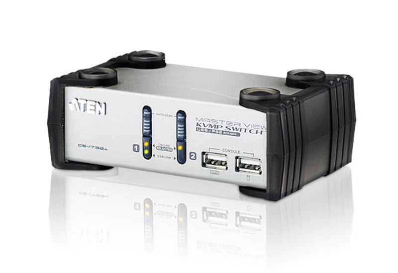 CS1732A Switch PS/2-USB VGA/Audio KVMP™ de 2 portas