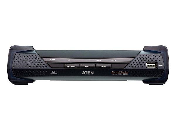 KE9950 Extensão 4K DisplayPort de ecrã individual KVM Sobre IP