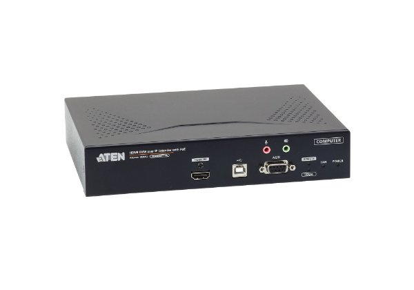 KE8952T Transmissor KVM de exibição única 4K HDMI sobre IP com PoE