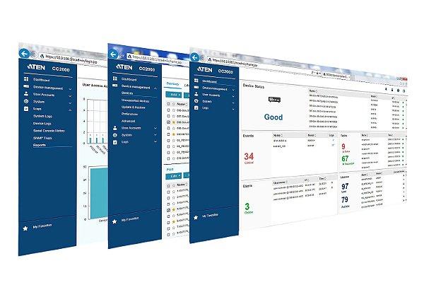 CC2000 3.0 Software de Gerenciamento Centralizado