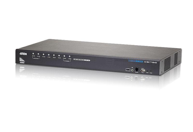 CS17916 Comutador KVM USB / Áudio USB de 16 portas
