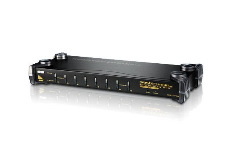 CS9138 Comutador KVM PS / 2 VGA de 8 portas