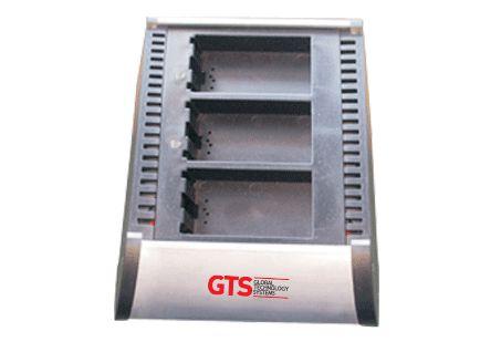 HCH-3003-CHG - Carregador de Bateria GTS 3 Compartimentos Para Symbol MC3000 / MC31XX