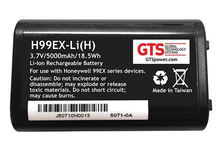 H99EX-LI(H) - Bateria de Capacidade Estendida Para Computadores Móveis Honeywell 99EX / 99GX
