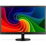 E970SWNL  AOC Monitor (E970SWNL) LED 18.5 Widescreen (1366x768) Slim Design (VGA)