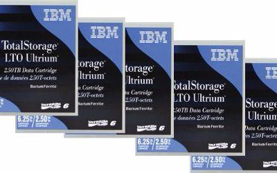 00V7590 FITA LTO ULTRIUM 6 2.5TB/6,25TB IBM