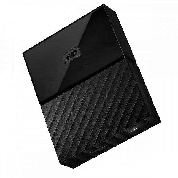 WDBYNN0010BBK-WESN - HD Externo Western Digital My Passport Preto 1TB USB 3.0 Preto