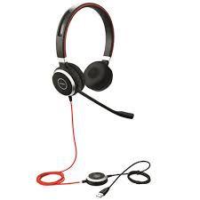 Jabra Headset Evolve 40 MS Biauricular (USB, 3.5mm), 6399-823-109