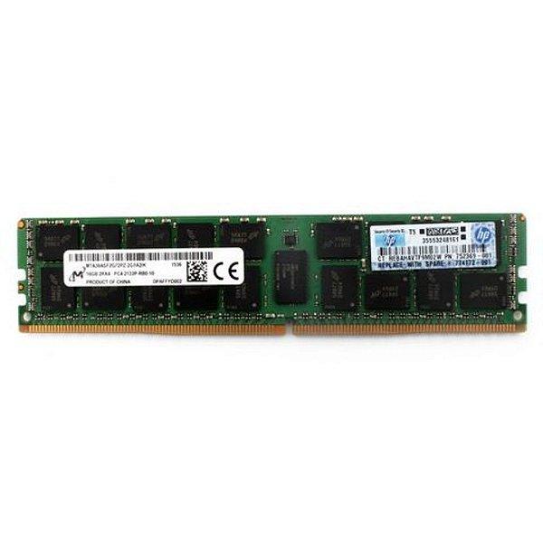 627810-B21 Memória Servidor HP 32GB (1x32GB) Quad Rank x4 RDIMM