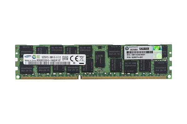 628974-081 Memória Servidor HP DIMM SDRAM de 16GB (1x16 GB)