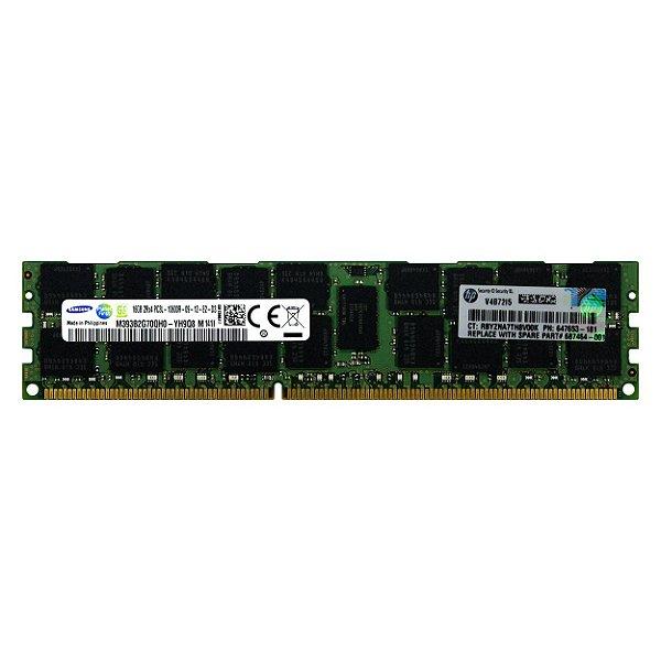 647653-181 Memória Servidor HP DIMM de SDRAM LV de 16GB (1x16 GB)