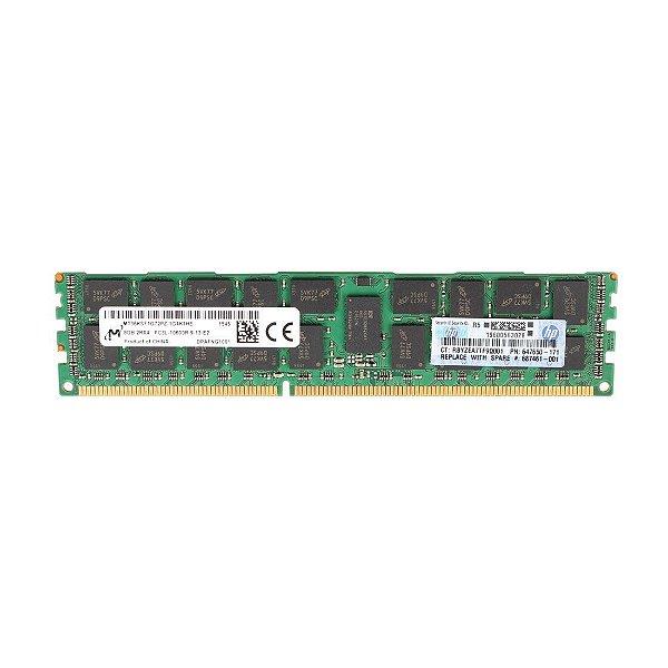 687461-001 Memória Servidor HP DIMM SDRAM LV de 8GB (1x8 GB)